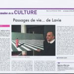 GillesLavie - Exposition Regina Biarritz_Février Mars 2018_Article de presse Semaine du Pays Basque