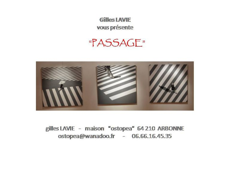 Gilles Lavie - Collection Passage