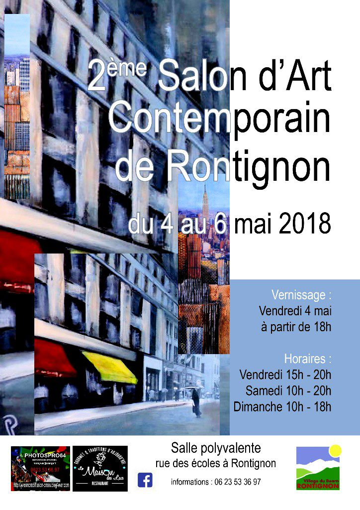 Gilles Lavie artiste peintre - Salon d'art contemporain à Rontignon _ les 4, 5, 6 mai 2018