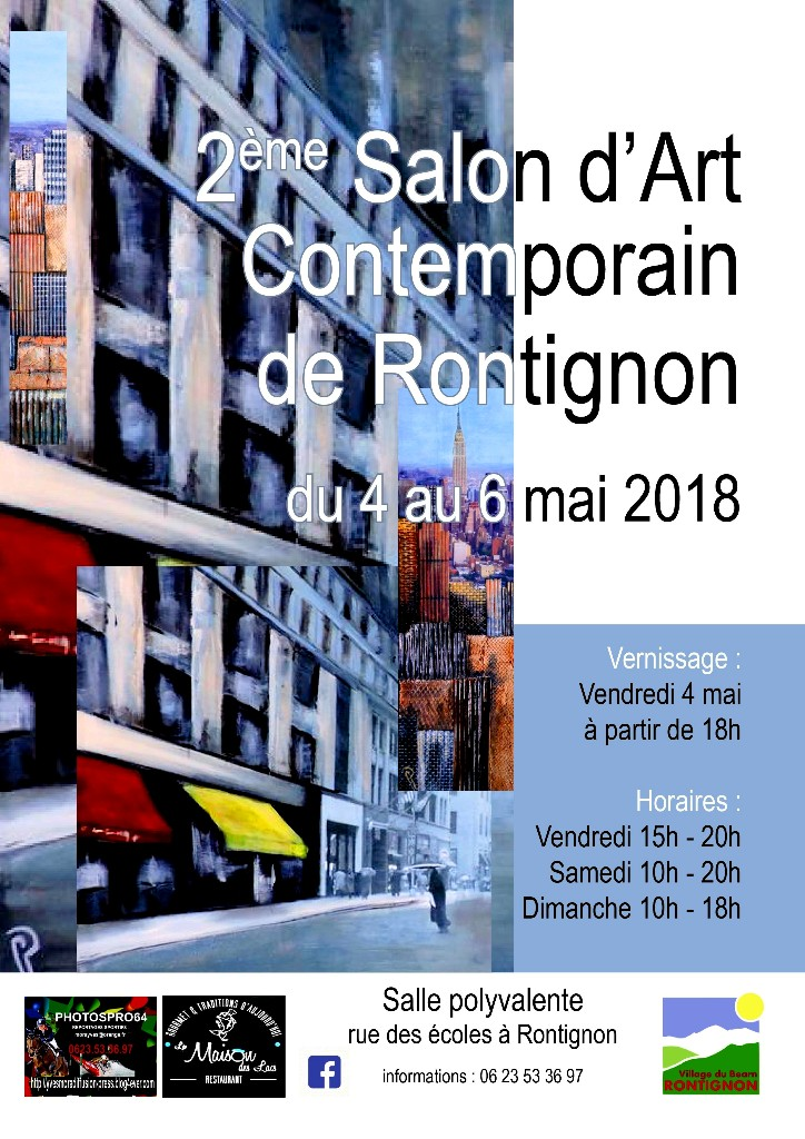 2018_Rontignon_Salon d'art