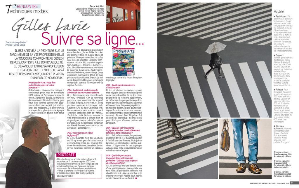 Pratique des Arts n°143: Gilles Lavie