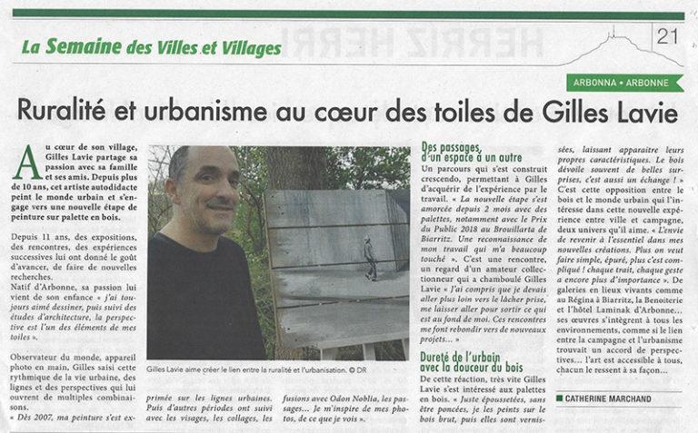 Journal La Semaine du 11 janvier 2019