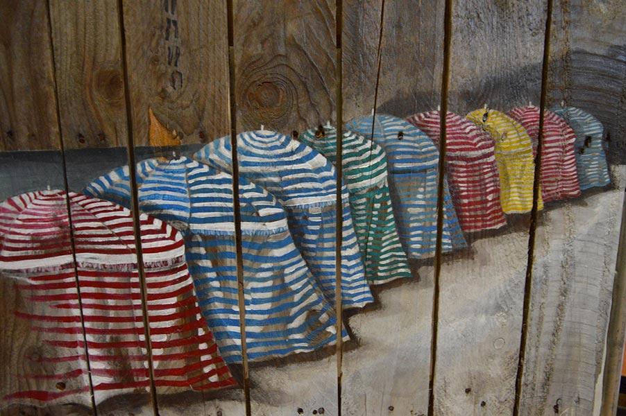 Les tentes de la grande plage, collection Palette, par Gilles Lavie