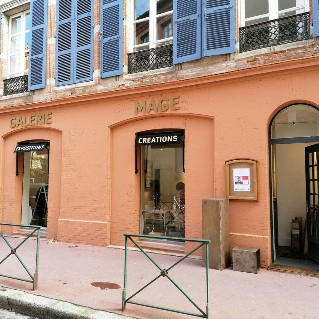 Galerie Mage Toulouse Expo concours avec Gilles Lavie