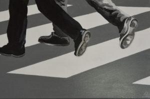 Gilles Lavie artiste peintre - pieds 02