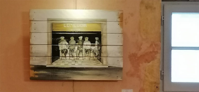 Expo permanente à Bayonne, restaurant le Belzunce