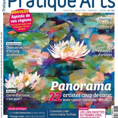 Couverture Pratique des Arts n°143