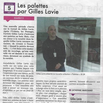Coupure de presse du journal